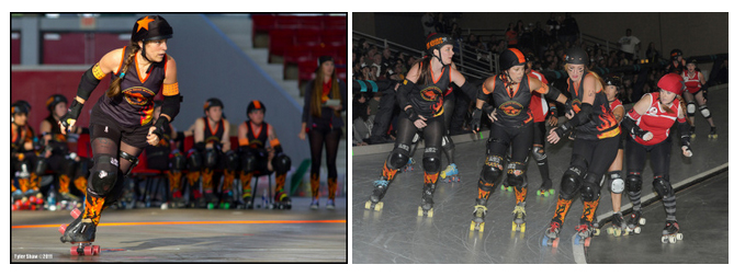 Photos by Tyler Shaw (left), 123eventphotography (right)